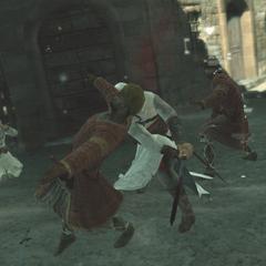 Altaïr schakelt de <a href=