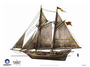 Assassin's Creed IV Black Flag -Ship- The Barbidan by max qin