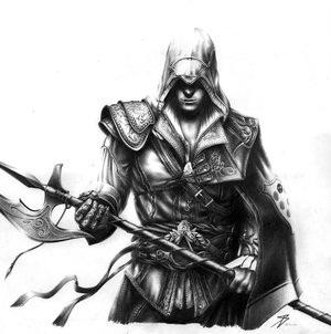 File:Ezio Auditore by CapnGarrett.jpg