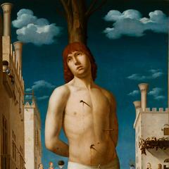 <b>圣徒塞巴斯蒂安</b><br />(San Sebastian)<br /> 安托内罗·达·梅西那