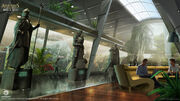 Assassin's Creed IV Black Flag Abstergo Entertainment interior 8 Concept Art by EddieBennun