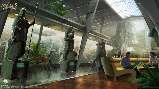 File:Assassin's Creed IV Black Flag Abstergo Entertainment interior 8 Concept Art by EddieBennun.jpg