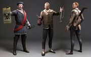 Laurent Sauvage NPC models - Assassin's Creed Brotherhood