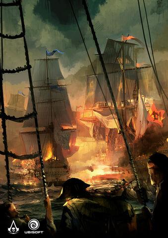 File:AC4 Faction Battle - Concept Art.jpg