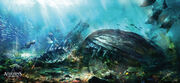 Assassin's Creed IV Black Flag UnderwaterBreathingZone by max qin