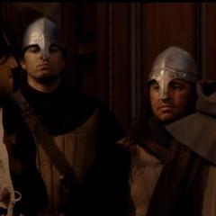 安东尼奥和他的守卫恐吓费代里科