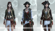 The Corsair outfits