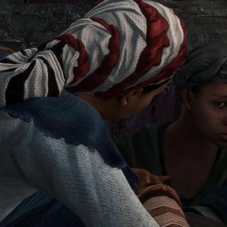 Aveline praat met Thérèse