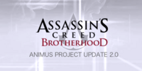 Animus Project Update 2.0