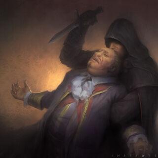 海瑟姆刺杀一名商人