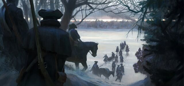File:Assassins creed iii conceptart Moving through forest.jpg