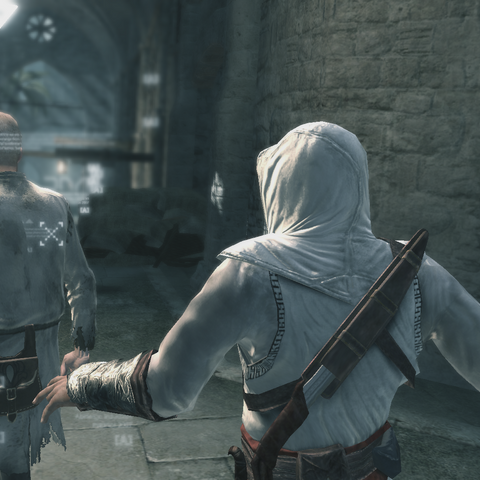 Altaïr steelt de brief.