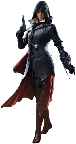 """Evie w <a href=""""/wiki/Assassin%27s_Creed:_Syndicate"""" title=""""Assassin's Creed: Syndicate"""">Assassin's Creed: Syndicate</a>"""