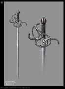 ACRG Spanish Sword - Concept Art