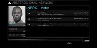 Warren Vidic's email
