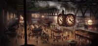 ACS Waterloo Station - Concept Art