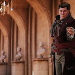 Charles zegt tegen Arno dat hij moet blijven wachten