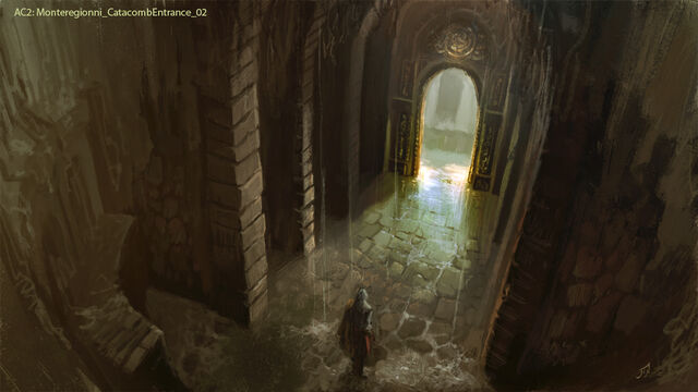 File:AC2 Monteriggioni Catacomb Entrance - Concept Art 2.jpg