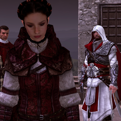 Claudia als Assassijn.