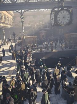 ACS DB Waterloo Station
