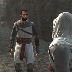 Altaïr heeft ruzie met Abbas.
