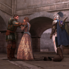 Bartolomeo is herenigd met zijn vrouw.
