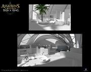 AC4BF Abstergo Entertainment design 05 by Diana Kalugina