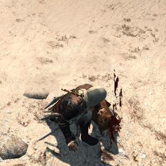 Edward doodt een <a href=