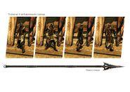 Shahkulu model and weapon set