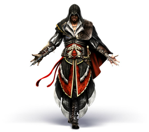 File:AC2 Ezio armor of Altair front render by Michel Thibault.png