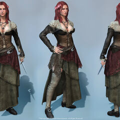 Renders of Anne