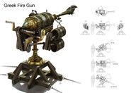 Greek Fire Gun