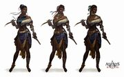 AC4 Firebrand Customization - Concept Art