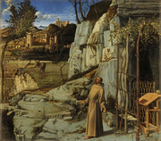St-Francis in Ecstasy - By Giovanni Bellini