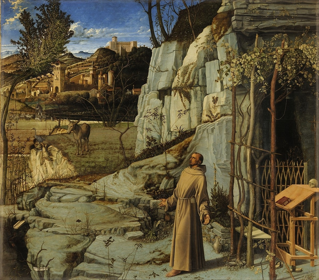 File:St-Francis in Ecstasy - By Giovanni Bellini.png