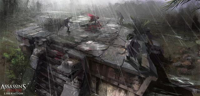 File:Assassin's Creed III Liberation - Jaguar platform by nachoyague.jpg