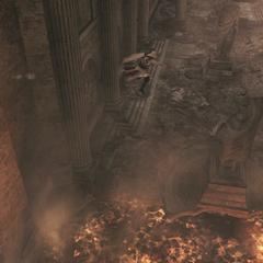 Ezio verkent de gang
