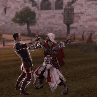 Ezio vermoordt Donato.