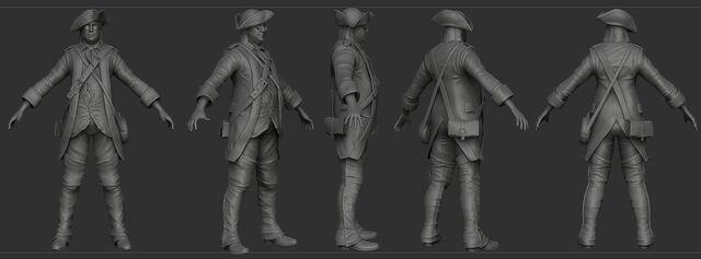 File:AC3 Benjamin Franklin Disguise ZBrush Model.jpg