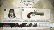 Assassin's Creed Unity Shooter Pack