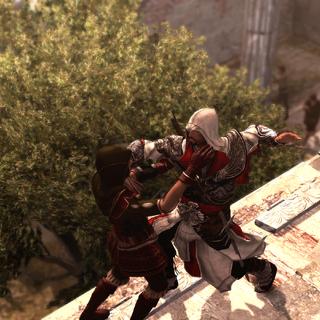Ezio vermoordt Lia.