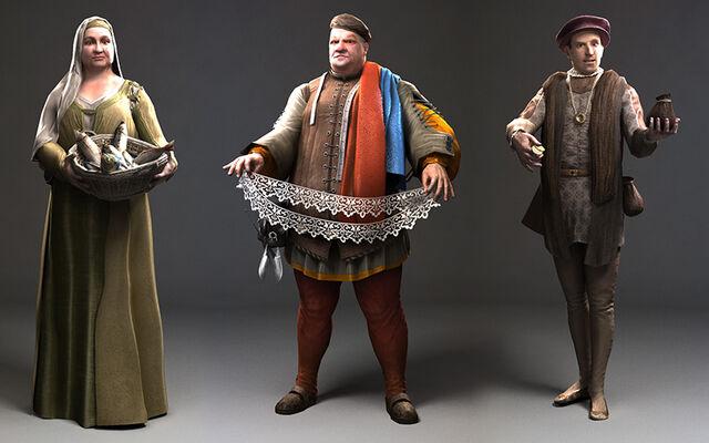 File:Laurent Sauvage NPCs street models - Assassin's Creed Brotherhood.jpg