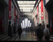 ACU Quartier General Gestapo - Concept Art