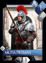 ACR Militia Pikeman