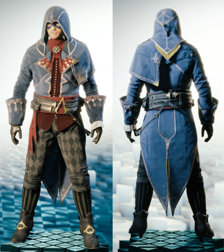 Image - ACU Improved Phantom Outfit.png | Assassinu0026#39;s Creed Wiki | FANDOM powered by Wikia