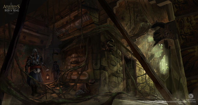 File:Assassin's Creed IV Black Flag Aveline Mission 2 Concept Art by EddieBennun.jpg