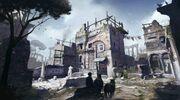Rome's Antique District concept art