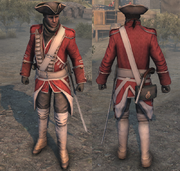 AC3 Redcoat Uniform