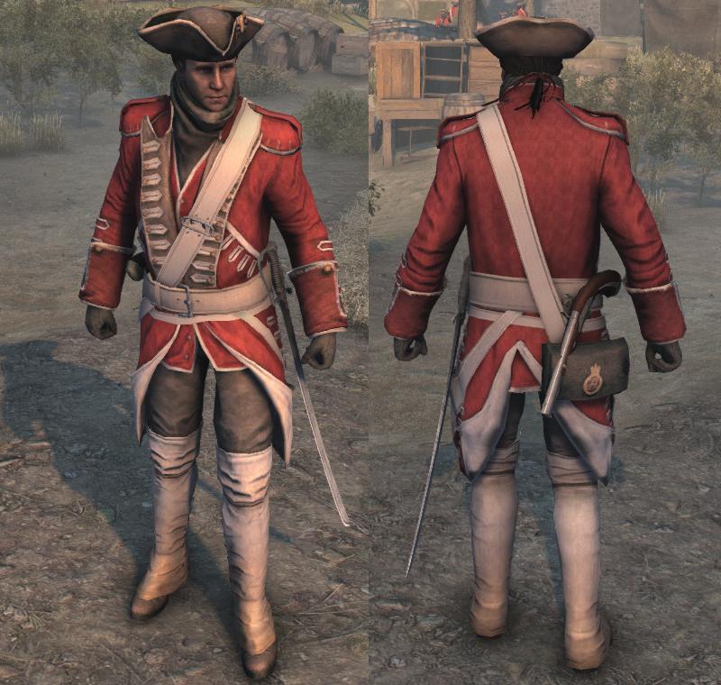 Image - AC3 Redcoat Uniform.png | Assassin's Creed Wiki | FANDOM ...