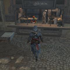 Ezio bij de smid
